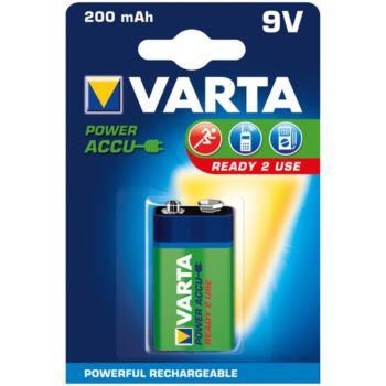 Akku RECHARGEABLE Wiederaufladbar Batterie POWER E-Block Blister 1 Stück 8