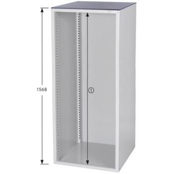 Schrankgehäuse System 800 S, Modell S8/49 RAL 7