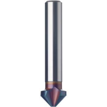 Kegelsenker 3-schneidig 90 Grad 6,3 mm HSS-TINALOX