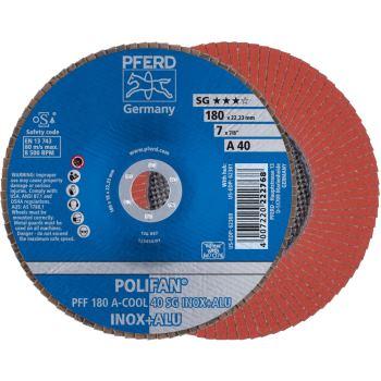 POLIFAN®-Fächerscheibe PFF 180 A 40 SG-COOL/22,23