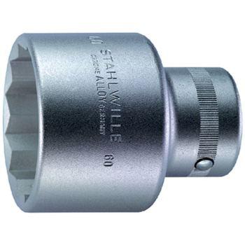 """1""""Zoll Steckschlüsseleinsatz Ø 32 mm DIN 3124 Doppelsechskant"""