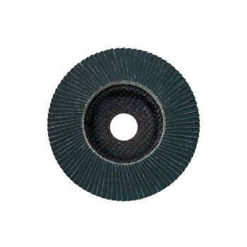 Lamellenschleifteller 125 mm P 80, Zirkonkorund, S