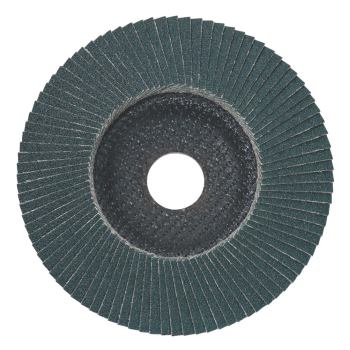 Lamellenschleifteller 125 mm P 60, Zirkonkorund, S