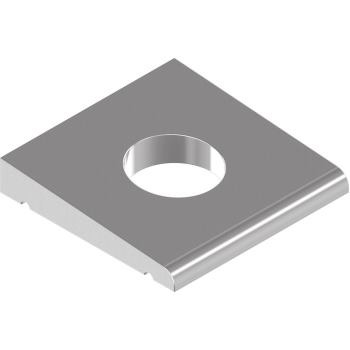 Vierkant-Keilscheiben DIN 434 - Edelstahl A2 f.U-Träger - 22 f.M20