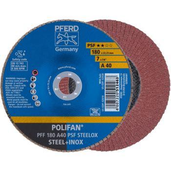 POLIFAN®-Fächerscheibe PFF 180 A 40 PSF/22,23