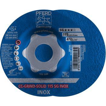 CC-Grind®-SOLID-Schleifscheibe CC-GRIND-SOLID 115 SG-INOX