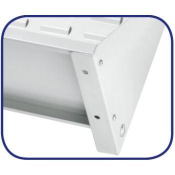 Ständer-Systemeinheit doppels.Mod.20 HxBxT760x1000
