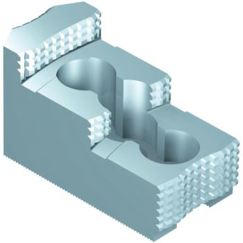 Harte Stufenbacken für Futtergröße 250 1,5 mm x 6