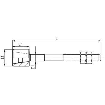 BILZ Führungszapfen komplett Größe 4 17 mm GZ 2401