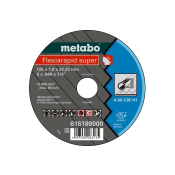 Flexiamant super 125x1,0x22,23 Stahl, Trennscheibe