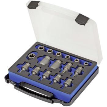 Steckschlüssel-Set 1/2 Inch f.TORX Innen u.Außen,1