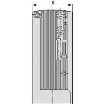 Kerbzahnschiene BASIC D40 Alu-Line D40