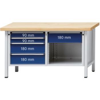 Werkbank Modell 118 V Platte Buche-Massiv 150