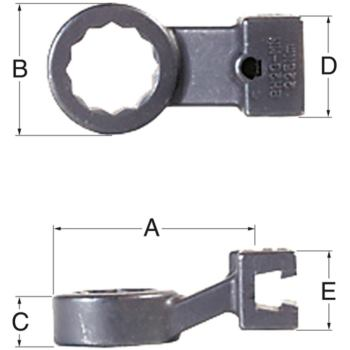 Ringschlüssel 12 mm BH-12