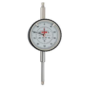 Messuhr 0,01mm / 30mm / 58mm / Stoßschutz / ISO 463 - Werksnorm 10028