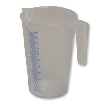 Kunststoff-Flüssigkeitsmessbecher Typ J-PP 200 2