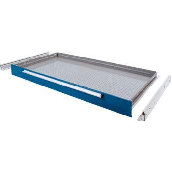 Schublade 120/ 100 mm, Vollauszug 200 kg, RAL 5010