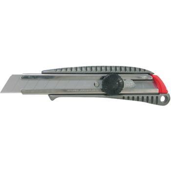 Cuttermesser mit 18 mm Abbrechklinge Metallgehäuse