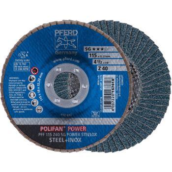 POLIFAN®-Fächerscheibe PFF 115 Z 40 SG/22,23