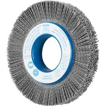 Rundbürste mit Plastikkörper, ungezopft RBUP 15025/50,8 SiC 120 1,10