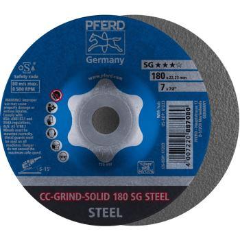 CC-Grind®-SOLID-Schleifscheibe CC-GRIND-SOLID 180 SG-STEEL