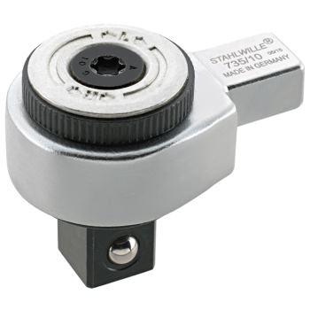 Einsteckknarre 1/2 Inch umschaltbar 9 x 12 mm Vie