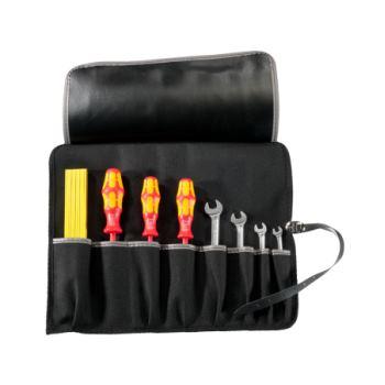 Rolltasche Kunstleder 390x320mm 8 Einsteckfächer