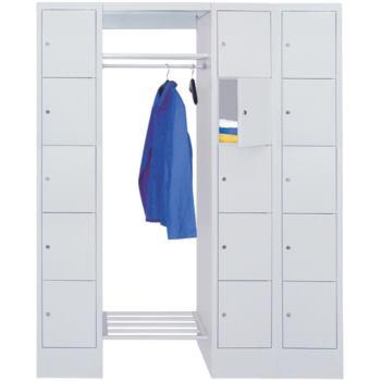 Schließfach-Garderoben, H x B x T 1850x1500x500 mm