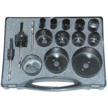 Lochsägen HSS Bi-Metall 15-teilig 16 - 76 mm Durch messer