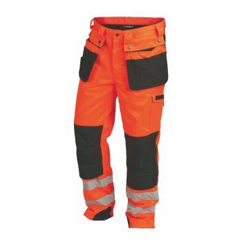 Warnschutzhose Klasse 2 orange Gr. 60