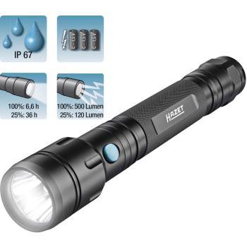 LED Taschenlampe, große Ausführung, 1979-73