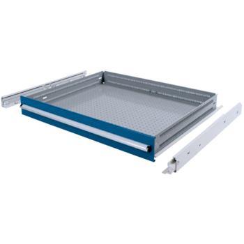 Schublade 150/100 mm, Vollauszug 200 kg, RAL 5010