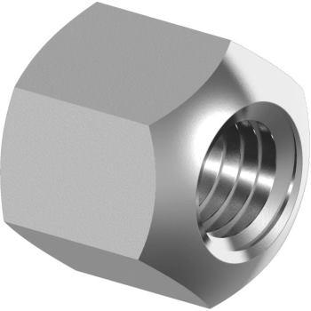 Sechskantmuttern DIN 6330 - Edelstahl A4 Höhe 1,5xd M12