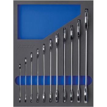 Modul-Hartschaum-Einlage Doppel-Maulschlüssel 11-t eilig