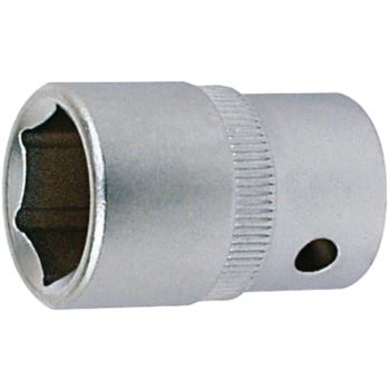 Steckschlüsseleinsatz 15 mm 3/8 Inch DIN 3124 Sech skant