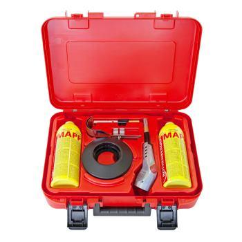 Gaslötbrenner SUPERFIRE 3 HOT BOX im Koffer