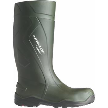 S5 Gummistiefel Purofort Plus Full Safety dunkelg rün Gr. 47