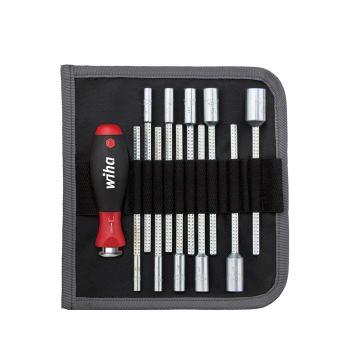 Sechskant-Steckschlüssel 12-teilig 4 - 13 mm Soft