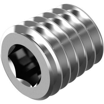 Verschlussschrauben m.Innensechskant DIN 906-M-A4 M 8x1 kegeligem Gewinde