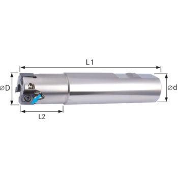 Schaftfräser 90 Grad Durchmesser 20 mm Z=3
