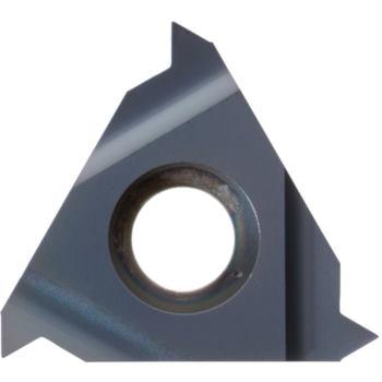 Teilprofil-Wendeschneidplatte Außengew.links 11EL A60 HC6615 Stg.0,5-1,5