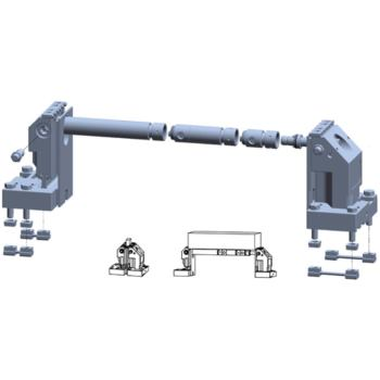 5-Achs-Spanner Komplettset 100-175 für T-Nut 18