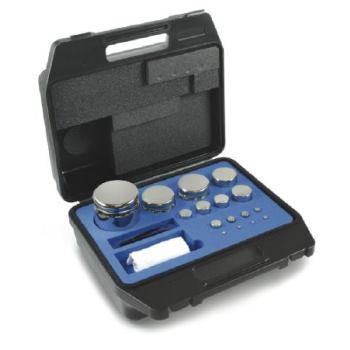 E2 Gewichtsatz Kompaktform, 1 g - 200 g / Edelst