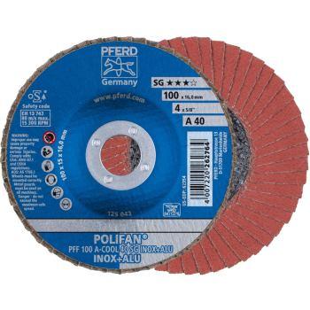 POLIFAN®-Fächerscheibe PFF 100 A 40 SG-COOL/16,0