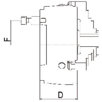 DURO-T 200, KK 6, ISO 702-3, Stehbolzen und Bundmutter, einteilige Umkehrbacken