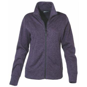 Jacket Knitted purple Gr. 38