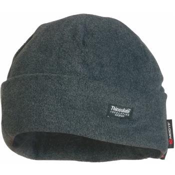 Fleece-Mütze Thinsulate grau Gr. one size
