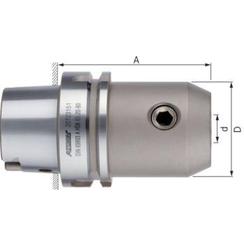 Flächenspannfutter DIN6359 Zylinderschäfte D