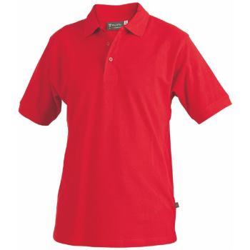 Polo-Shirt rot Gr. 4XL
