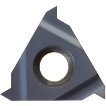 Teilprofil-Wendeschneidplatte Außengewinde rechts 22ER N55 HC6625 Stg.7-5